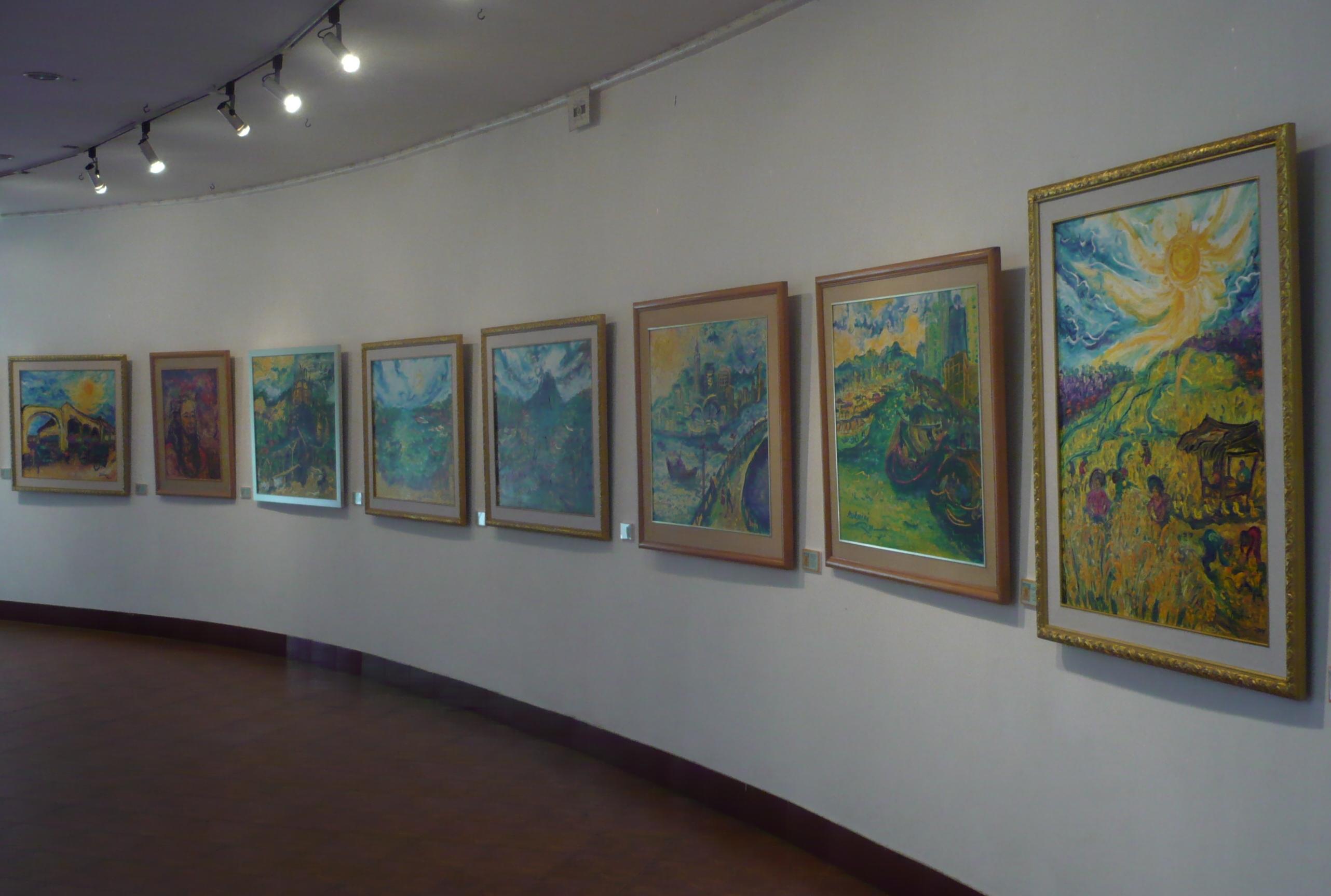 Museum Affandi Bingkisan Karya Sang Maestro Seni Lukis
